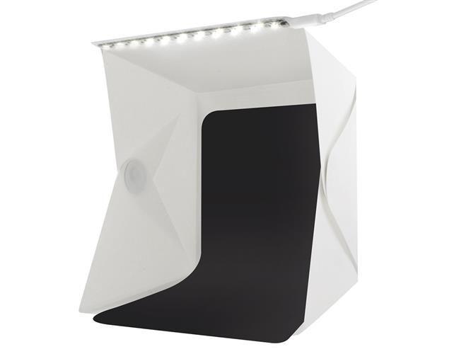 Deze opvouwbare opnametent is een studio opnamebox met ingebouwde led verlichting. deze tent kunt u gebruiken ...