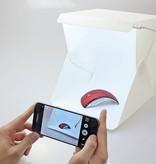 Geeek Faltbares Fotostudio-Foto-Zelt mit LED-Beleuchtung