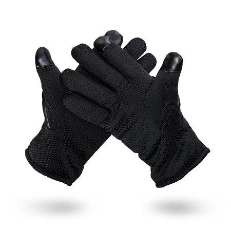 Geeek  Handschuhe für Smartphone / Touchscreen - Kunstleder - Schwarz