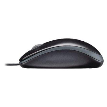 Logitech Kabelgebundene Maus und Tastatur Standard USB US International Black