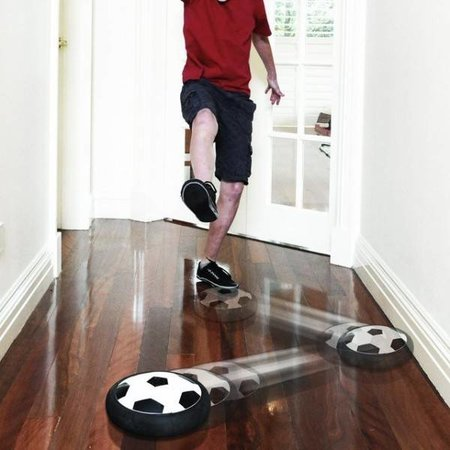 MikaMax Air Powered Soccer Disc - Voetbal