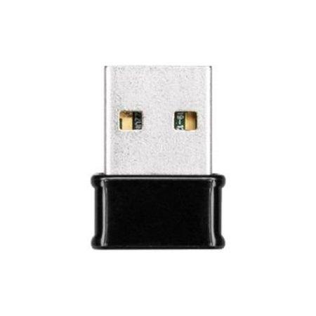 Edimax Wireless USB Adapter AC1200 2,4 / 5 GHz (Dualband) Wi-Fi Schwarz / Aluminium