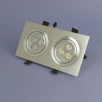 Dual LED Recessed 3 Watt Warm White Dimmable