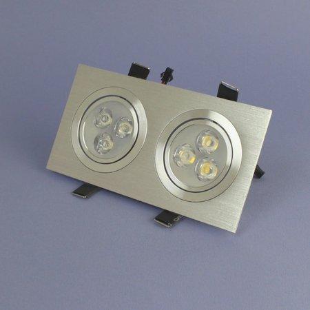 Geeek Dimmbare Dual-LED Einbau 3 Watt – Warmweiß