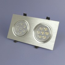Dual LED Recessed 7 Watt Warm White Dimmable