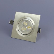 Recessed LED 3 Watt Warm White Dimmable