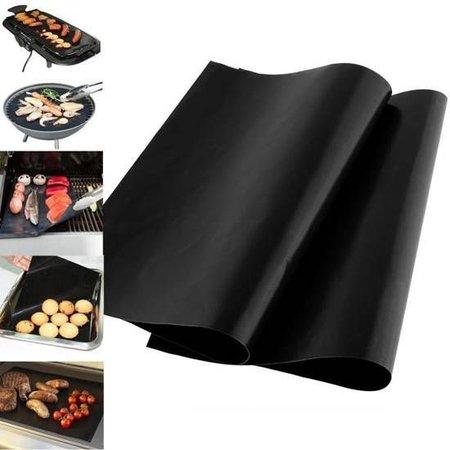 Geeek Ofenschutz / BBQ Grillmatte - Hitzebeständig und wiederverwendbar - 2 Stück