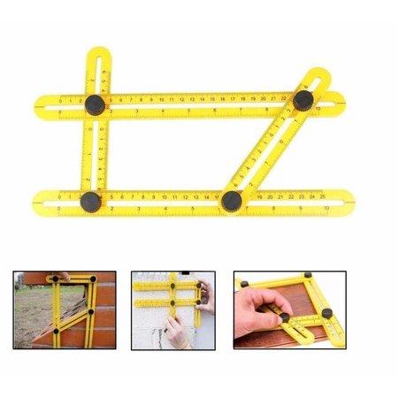 Geeek Anglizer - Vierseitenmessgerät - Multi-Winkel-Lineal - Dreieck