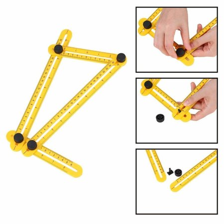 Geeek Angle-izer Quadrilateral Measuring Instrument - Multi-angle ruler