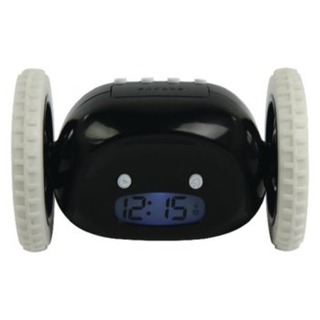 basicXL Driving Alarm Clock Digital Black / White