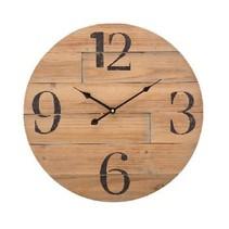 Retro Wooden Wall Clock 50 cm