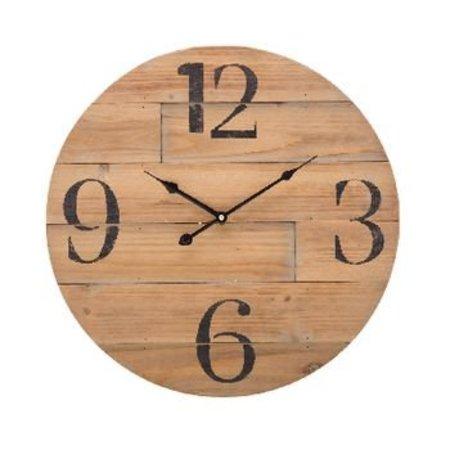 Balance Retro Wooden Wall Clock 50 cm