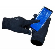 Mobilize Touchscreen Gloves 21cm Handschoenen Zwart