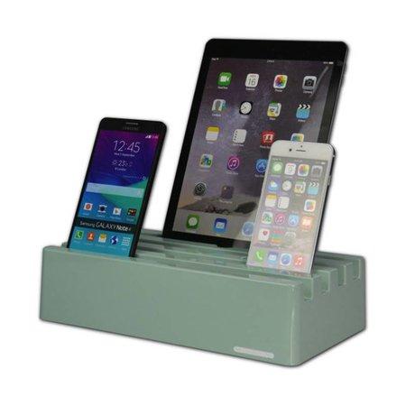Kram Kram Charge Pit Mint Green - 6 port USB Charging Station mint green