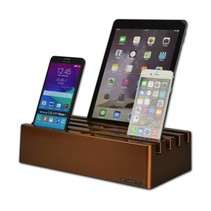 Kram Charge Pit Copper - USB-Ladestation-Kupfer mit 6 Anschlüssen
