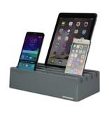 Kram Kram Charge Pit Marble Gray - 6 port USB Charging Station