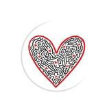 PopSockets PopSockets erweitern die Stand- / Grifffiguren in einem Herzen