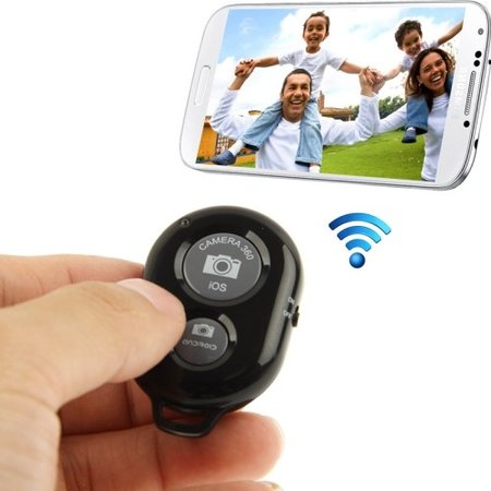 Ashutb Bluetooth Remote Shutter Black