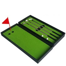 Mini Golf Game Desktop Putter Pen Set Golf Training