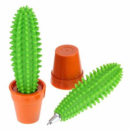 Geeek Cactus Pen Zacht Rubber Balpen