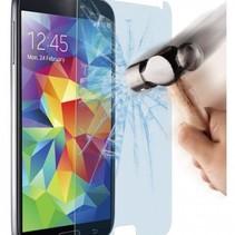 Schutzfolie aus gehärtetem 0,3mm Panzerglas für Samsung S5