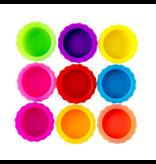 Geeek Multicolor Bierfles afsluit dopjes - 9x - Silicone - Anti insecten dopjes - Herbruikbaar