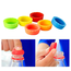 Geeek Reusable Bottle Caps - 9x - Silicone - Multicolor