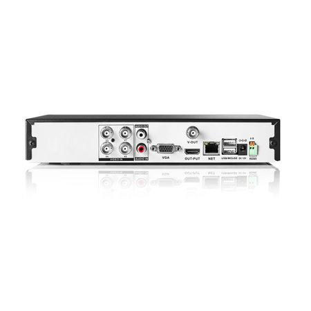 König CCTV-Set HDD 1 TB - 4x Camera