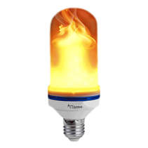 Flame Effect LED Lamp Torch Lighting E27