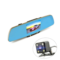 DashCam CarCam driving mirror HD 1080p Dual Cam