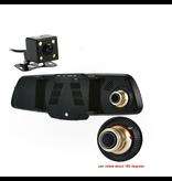 Geeek DashCam CarCam Rückfahrspiegel HD 1080p Dual Kamera