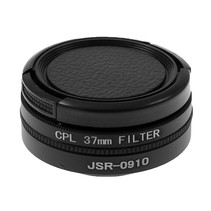 37mm Lens / UV Filter / Polarizer Set voor GoPro Hero 3, 3+ en Hero 4