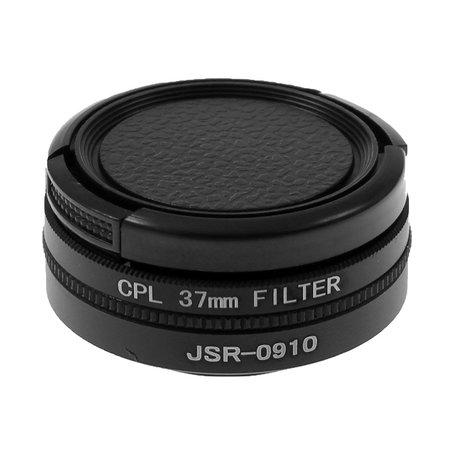 Geeek 37mm Objektiv / UV Filter / Polarizer Set für GoPro