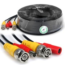 20m  CCTV Cable Combi Cable Coax BNC RG59 + Power
