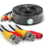 Geeek 10m CCTV Cable Combi Cable Coax BNC RG59 + Power
