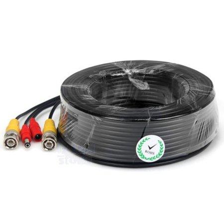 Geeek 20 meter CCTV Kabel Combikabel Coax BNC RG59 + Voeding