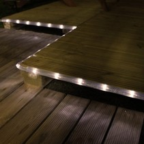 LED Rope Light for Outdoor Solar Energy