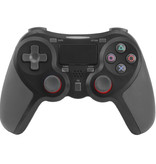 Geeek Drahtloser Bluetooth-Controller für PS4 Black