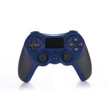 Drahtloser Bluetooth-Controller für PS4 Blau