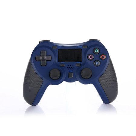 Geeek Draadloze Bluetooth Controller voor PS4 Blauw