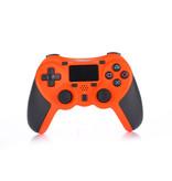 Geeek Wireless Bluetooth Controller for PS4 Orange