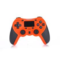 Draadloze Bluetooth Controller voor PS4 Oranje
