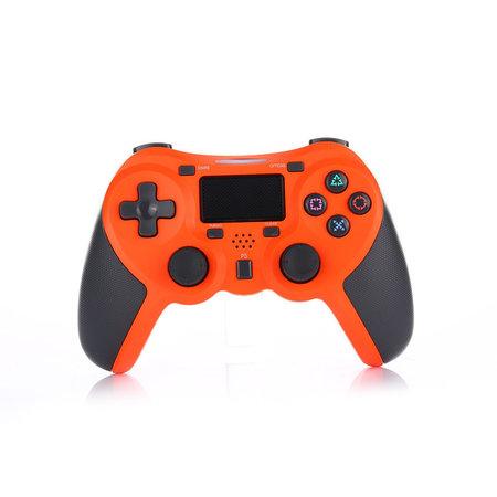 Geeek Draadloze Bluetooth Controller voor PS4 Oranje