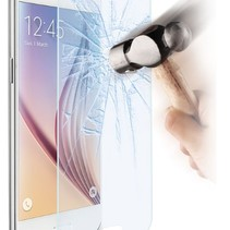 Sterke Tempered Glass Screenprotector Samsung Galaxy S6