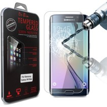 Sterke Tempered Glass Screenprotector Samsung Galaxy S6 Edge