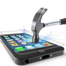 Schutzfolie aus gehärtetem 0,3 mm Panzerglas für iPhone 5S / SE (2-pack)