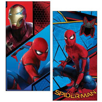 Spiderman Beach Towel Microfiber Towel - 70 x 140 cm - 240gr / m2