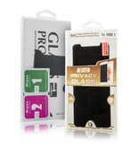 Geeek Premium 9H Displayschutzfolie aus gehärtetem Glas für iPhone X