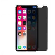 Premium Tempered Glass 9H Privacy Screenprotector iPhone X