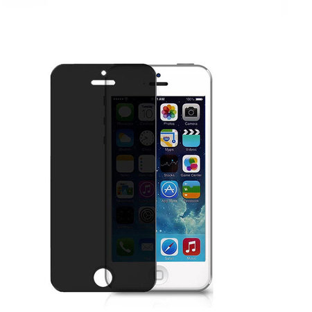 Geeek Premium Tempered Glass 9H Privacy Screen Protector iPhone SE / 5S / 5